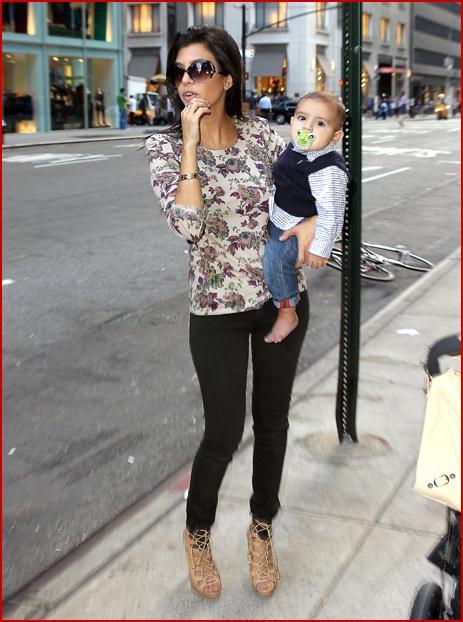 New York Fashion Week With Kourtney Kardashian And Baby Mason Faded Youth Blog