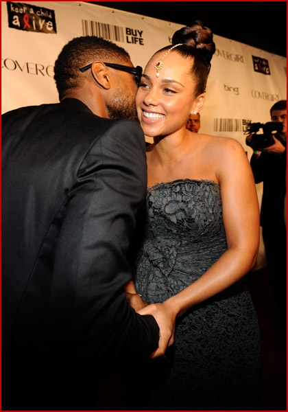 ALICIA KEYS SHOWS OFF BABY BUMP AT KEEP A CHILD ALIVE GALA »pregnant ... Alicia Keys