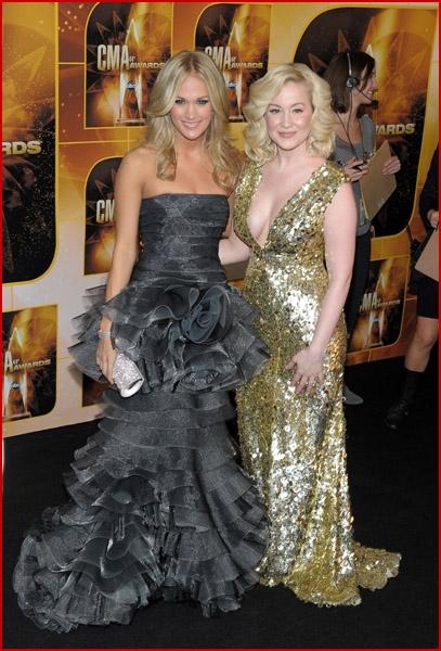 Kellie Pickler And Carrie Underwood Carrie Underwood   Fad...