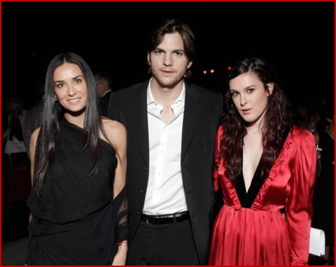 ashton kutcher and demi moore daughter. Ashton Kutcher and Demi