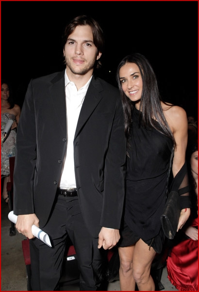 Demi Moore Ashton Kutcher 2010 Freedom Awards1