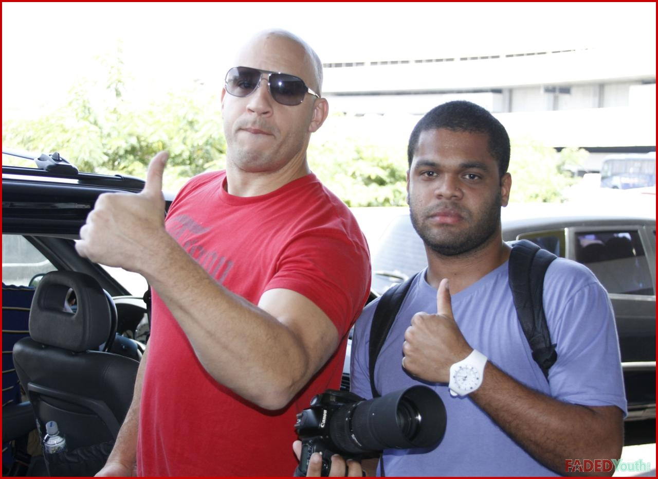 PAUL WALKER AND THE 'FAST FIVE' CAST TAKE OVER RIO DE