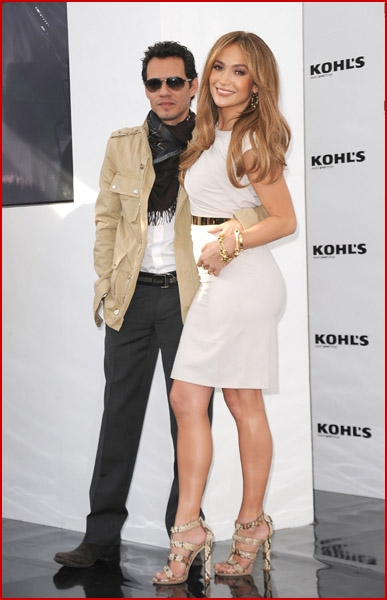 Jennifer Lopez And Marc Anthony Announce Plans to Launch Two Exclusive Lifestyle Brands at Kohl's Department Stores9