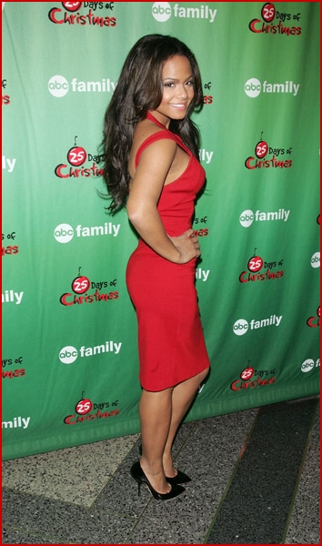 Christina Milian Christmas Cupid Cutie Faded Youth Blog