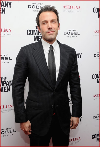 Ben Affleck attended the premiere of his new flick The Company Men at