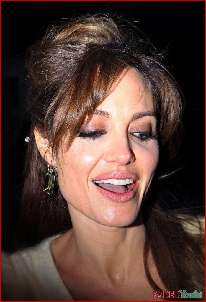 The excellent Angelina jolie fakes