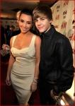 Kim Kardashian and Justin Bieber1