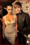 Kim Kardashian and Justin Bieber4
