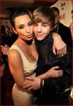 Kim Kardashian and Justin Bieber5