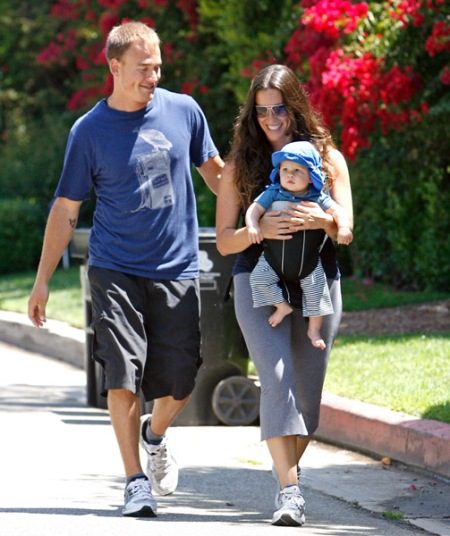 Alanis Morissette, Souleye Mario Treadway and Ever Imre Morissette-Treadway7