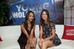 Zoe Saldana Visits Young HollywoodStudio2