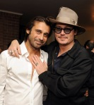 Johnny Depp Haute Living Presents Art Exhibit With Jordi Molla And Domingo Zapata At Chateau Marmont0