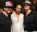 Johnny Depp Haute Living Presents Art Exhibit With Jordi Molla And Domingo Zapata At Chateau Marmont8
