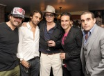 Johnny Depp Haute Living Presents Art Exhibit With Jordi Molla And Domingo Zapata At Chateau Marmont9