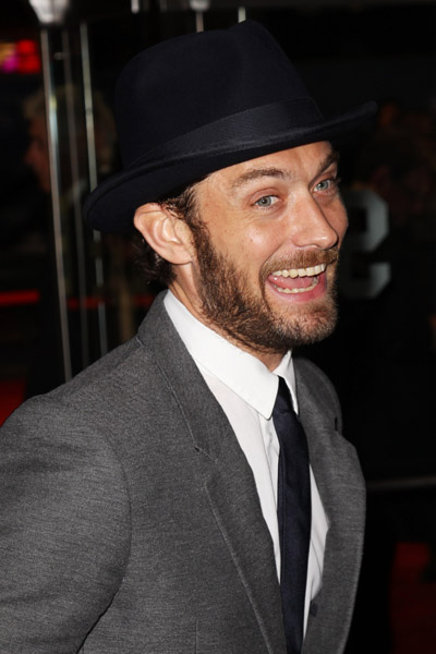 Jude Law attends the European premiere of 360 during the BFI London Film Festival11