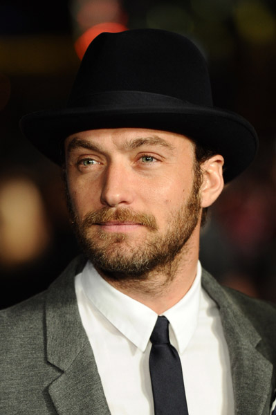 Jude Law attends the European premiere of 360 during the BFI London Film Festival7